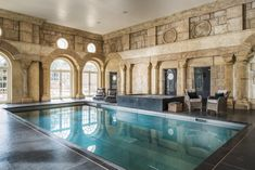 Balthazar is a large, exclusive-use luxury country house rental in Chiddingfold, Surrey. There´s two swimming pools, a hot tub, cinema and bowling alley.