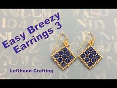 Beaded Netted Necklace Tutorial With Bicone - Kristal Kolye Yapımı - YouTube