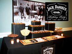 Fiesta para hombres inspirada en el Whisky. Incluye links para imprimibles e imágenes.