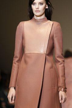Gucci Milan - Fall Winter 2014-15 #coat #cipria
