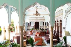 21 Incredible Trips To Add To Your Bucket List #refinery29 http://www.refinery29.com/tiny-atlas-amazing-travel-trips#slide-8 Location: Jaipur, India Why You Have To Go: The beautiful architecture and textiles. Best Time Of Year: Early November through FebruaryPro Tip: Try your hand at making your own textiles with Block Shop Textiles in Bagru.