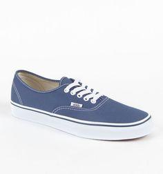 Mens Vans Shoes - Vans Authentic Navy...   $45.00