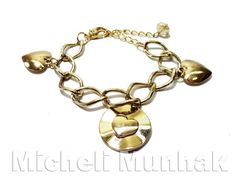 Pulseira Love ♥  http://www.michelimunhak.com.br