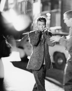berlin-1976:David Bowie photographed by Michael Halsband in New York, 5 October 1997