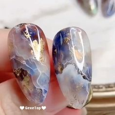 "10 ""Beautiful Gradient Color Nails"" That Girls Would Be Surprised – GexeTop Marble Nail Designs, Gel Nail Designs, Nails Design, Christmas Nail Art Designs, Christmas Nails, Christmas Design, Acrylic Nails, Gel Nails, Nail Polish"
