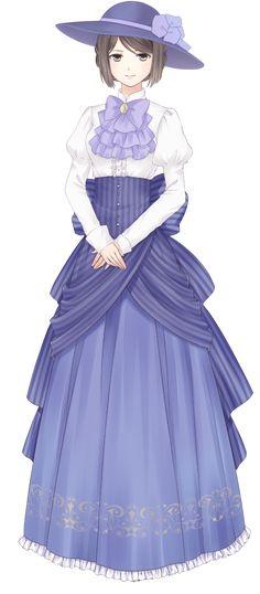Anime Girl Dress, Manga Girl, Anime Art Girl, Kawaii Girl, Kawaii Anime, Anime Outfits, Girl Outfits, Fille Anime Cool, Poses References