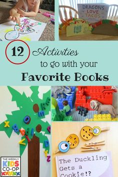12 activities to go with your favorite stories!