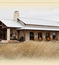 Texas style metal homes