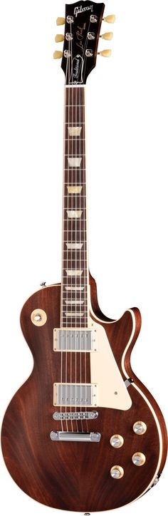 "Gibson Les Paul ""Mahogany Brown"" guitar"