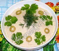Постный паштет из фасоли - пошаговый рецепт с фото. Этот вкусный и полезный паштет очень легко приготовить!