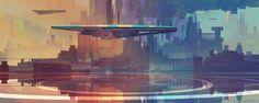 ArtStation - Andromeda's Colours, Bastien Grivet