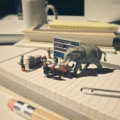 People always avoid talking about sensitive topics in the meeting. #miniature…