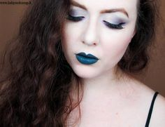 Babyredvamp Makeup: Face Of The Night - The Peacock Gate