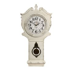 Adele Wall Clock with Pendulum
