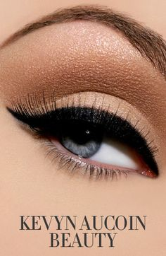 My idea of the perfect eye ~ So pretty and timeless!