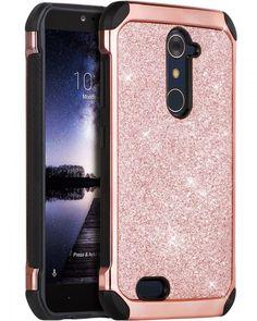 ZTE ZMax Pro Case, ZTE Carry Z981 Case, BENTOBEN Glitter Luxury 2 in 1 Ultra USA #BENTOBEN