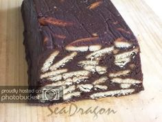 Visit the post for more. Marie Biscuit Cake, No Bake Biscuit Cake, Chocolate Biscuit Cake, Chocolate Desserts, No Bake Cake, Malay Cake, Healthy Recepies, Mug, Fudge Cake
