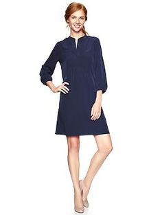 Just bought this. Interested to see how it looks on and w/ a belt. Peasant dress | Gap