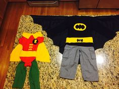Batman and robin costumes for toddler brothers Halloween Costumes For Brothers, Batman Costume For Boys, Robin Halloween Costume, Batman And Robin Costumes, Toddler Halloween Costumes, Family Costumes, Boy Costumes, Halloween Town, Halloween 2017