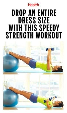 Drop an Entire Dress Size With This Speedy Strength Workout | Posted By: CustomWeightLossProgram.com