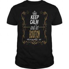 I Love Let BOULTON handle it T-Shirts