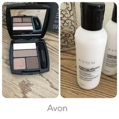 Avon Eyeshadow Quad & Eye Makeup Remover True Color eyeshadow quad Color: Mocha Latte Long Lasting, Vibrant and Crease Proof Color Moisture Effective Eye Makeup Remover Lotion Brand new, sealed 2 fl. oz. MSRP for the set $14Price is firm Avon Makeup Eyeshadow