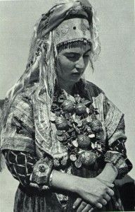 Jewish Woman, Berber Silver Jewelry Fes #morocco #moroccan #berber #woman #jewelry #fes #traditional #clothing #culture #fes #photography #travel #tourism