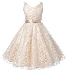 DressForLess Lovely Lace V-Neck Flower Girl Dress , CHAMPAGNE, 4 DressForLess http://www.amazon.com/dp/B00NH6KELO/ref=cm_sw_r_pi_dp_5p5avb0MF6B60
