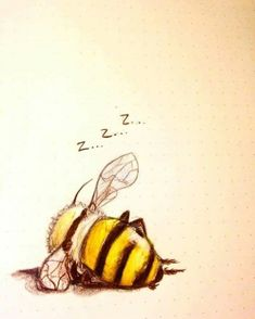I love bees and everything they do. - I love bees and everything they do . - I love bees and everything they do. – I love bees and everything they do. I Love Bees, Bee Art, Animal Art, Sketches, Art Drawings, Drawings, Illustration Art, Art, Beautiful Art