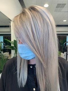 Icy platinum white solid blonde for naturally lighter haired people White Blonde, Lighter, Long Hair Styles, Photo And Video, People, Beauty, Cosmetology, Long Hairstyles, Long Hair Cuts