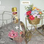 DIY: Transformando uma churrasqueira velha em uma floreira linda