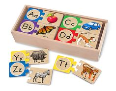 Self-correcting alphabet letter puzzles by Melissa and Doug