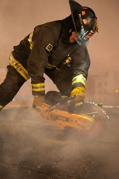 LION Janesville® turnout gear in action on Chicago Fire. | Shared by LION