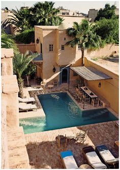 TAROUDANT - STYLISH HEAVEN LOST IN TIME on www.mylittlenotebook.com House from Decarpentrie and Naessens, La Bergerie.