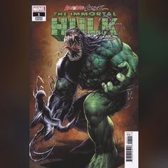 Venomized Hulk by Dale Keown – Marvel Comics Marvel Comics Superheroes, Marvel Comic Books, Marvel Characters, Comic Books Art, Comic Art, Marvel Dc, Dc Comics, Marvel Comic Universe, Comics Universe