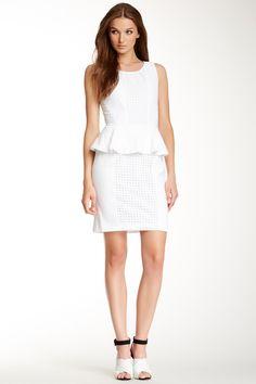 Rachel Zoe Paola Peplum Dress by Rachel Zoe on @nordstrom_rack
