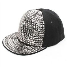 The charm Shi platinum 2014 Korean stylish boys new men s sequined Hat  trend quality hats on b544c8bc4aaa