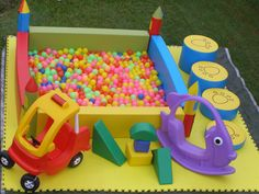 Tumbling Tigers - Ball Pit Hire for Toddler parties