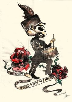 My Chemical Romance - The Black Parade. Awesome tattoo idea!