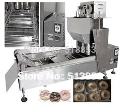 2100.00$  Watch now - http://alikxn.worldwells.pw/go.php?t=693881329 - By sea High quality Electric Automatic donut fryer/donut machine( GB-10D2) 2100.00$