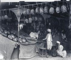 Fruit Market, Quetta Bazaar (1900)