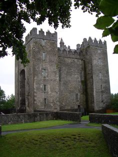 We attended a medieval feast here in Limerick, Ireland: Bunratty Castle.. I long to return