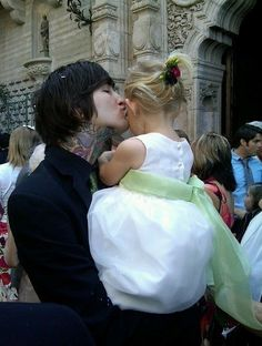 mitch lucker holding his daughter - Google Search