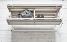Herman Cph - pulk - slæde - opbevaringsbænk - dekoration -design - dansk design - interiør - boligindretning - indretning - opbevaring - designblog - nordiske riger - praktisk
