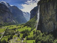 Save time on a search of Airbnb Lauterbrunnen Switzerland rentals! These are the best Airbnb Lauterbrunnen Switzerland vacation rentals. Suggestions for Lauterbrunnen Switzerland visitors! European Destination, Swiss Alps, Best Hikes, Train Rides, Day Trip, Switzerland, Beautiful Places, Beautiful Sky, Places To Visit