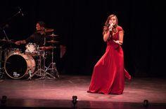 """Lauren performing """"The Girl in 14 G""""Broadway in the Berkshires"""