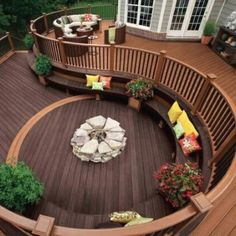 Outdoor Deck Ideas – As soon as you finished design the interior of the house, you will start planning the layout of house outside area. Outdoor deck idea is one ... Read More 29 Easy DIY Exotic Raised Deck Projects you might try for your outdoor space | [FILENAME] | #dec_ideas #deck_designs #patio_decks #wood_decks