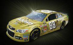 dale jr new paint scheme for 2014   Dale Earnhardt Jr. to sport gold paint scheme at Texas   Tireball ...
