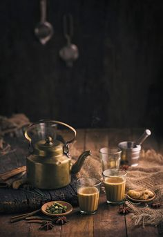 Do you love Tea? Check The Best Tea For a Peaceful Nights Sleep. A cup of good tea makes everything better' Earn Money From Home Call or Whatsapp Now: Masala Chai, Coffee Photography, Food Photography, Tea Recipes, Indian Food Recipes, Matcha, Chai Quotes, The Chai, Tea Culture