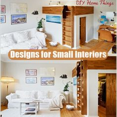 Amazing Designs for Small Interiors